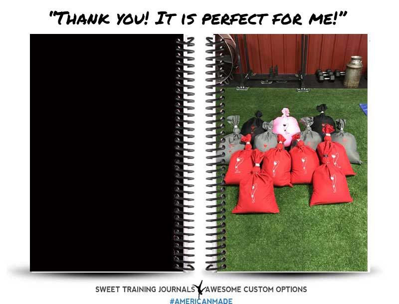 Marie's custom uploaded perfect fitness journal