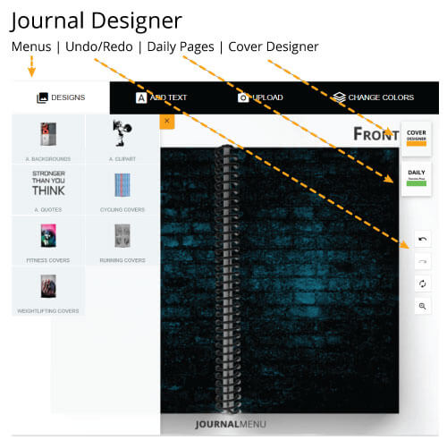Journal Designer Overview