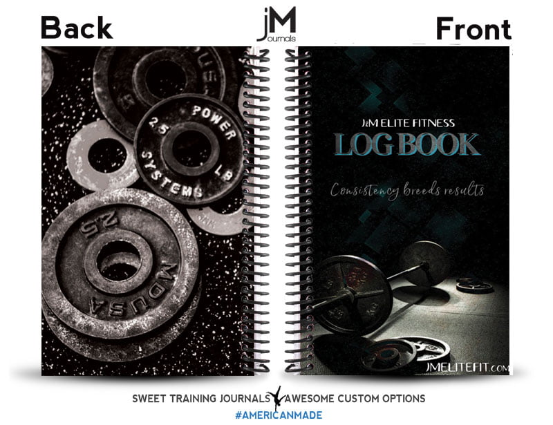 MM Elite custom training log book for personal training clients